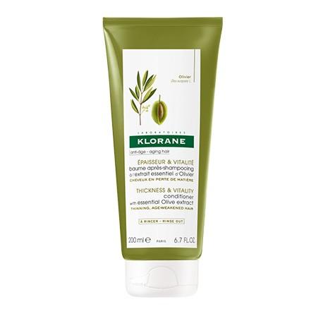 Image of Klorane baume après-shampooing à l'extrait essentiel d'olivier