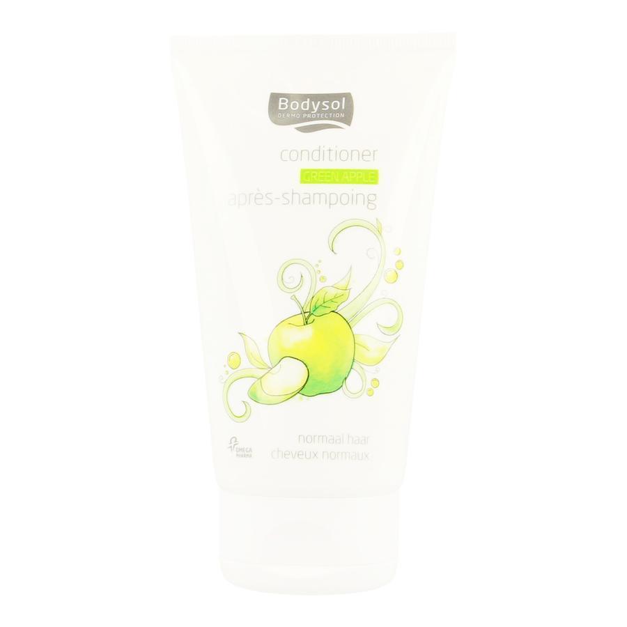 Image of Bodysol après-shampooing cheveux normaux pomme verte