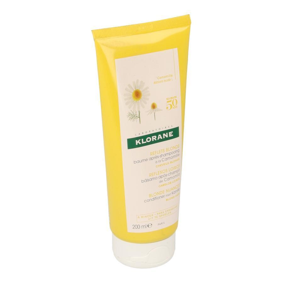 Image of Klorane baume après-shampooing à la camomille format voyage
