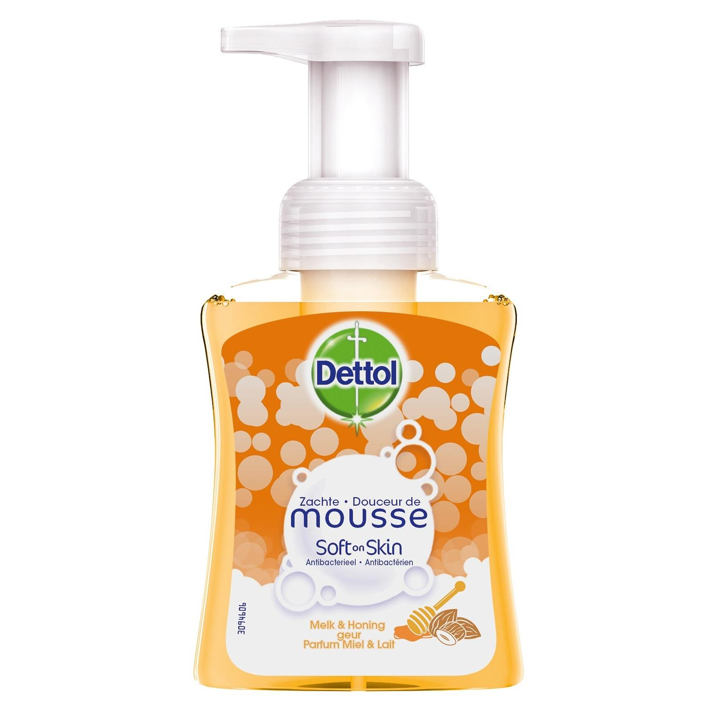 Image of Dettol Douceur De Mousse lait & miel