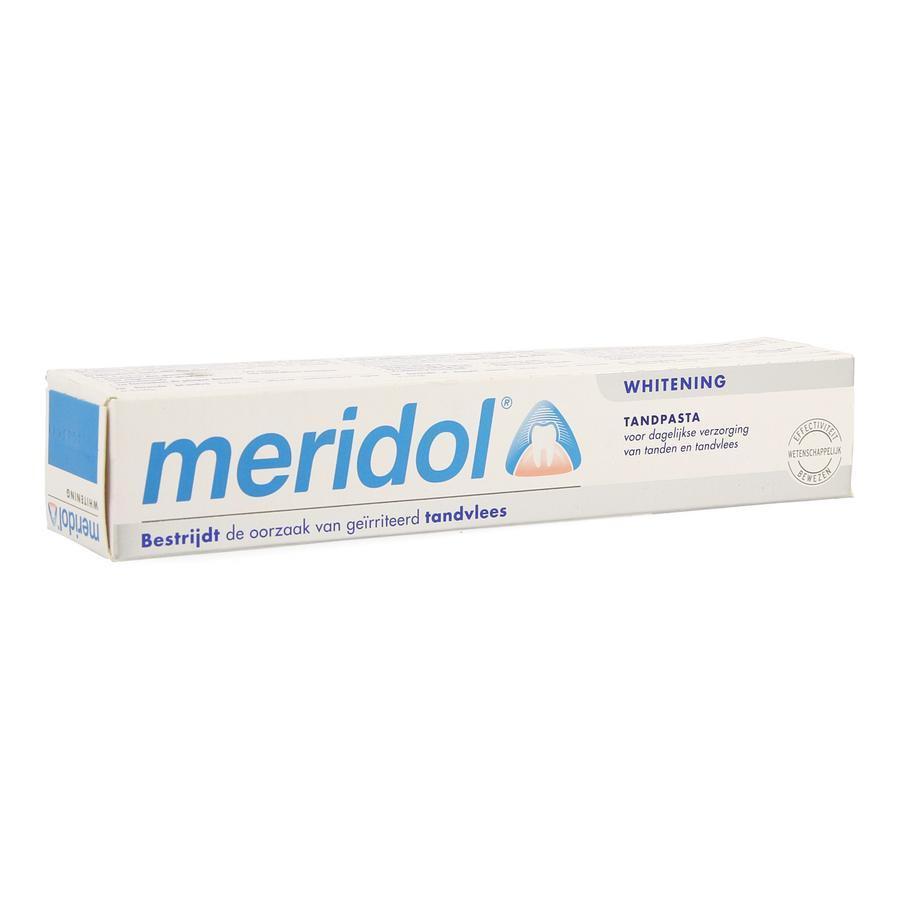 Image of Meridol dentifrice blancheur