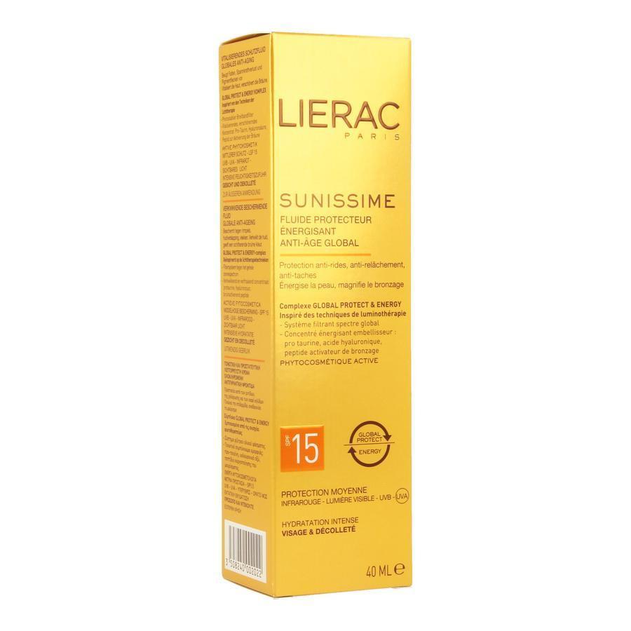 Image of Lierac Sunissime Verkwikkende beschermende fluid SPF15