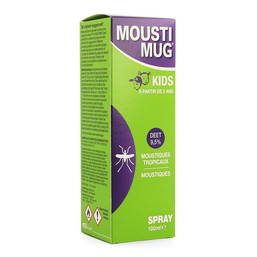 Image of Moustimug kids spray