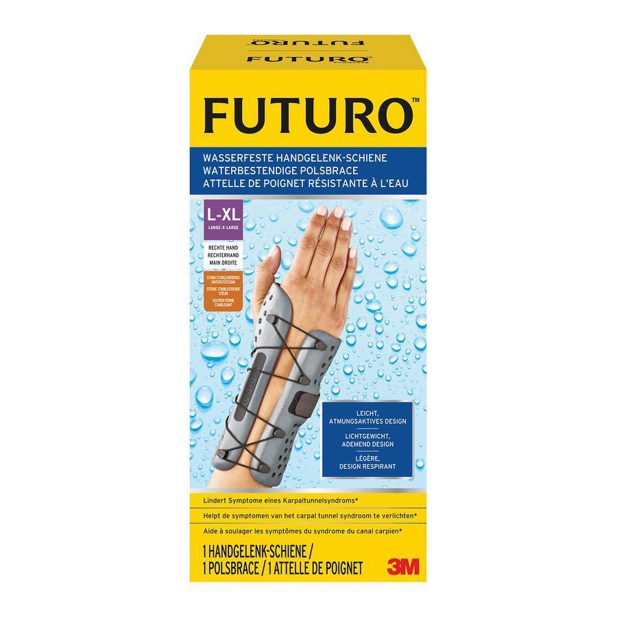 Image of Futuro attelle de poignet imperméable droite L/XL