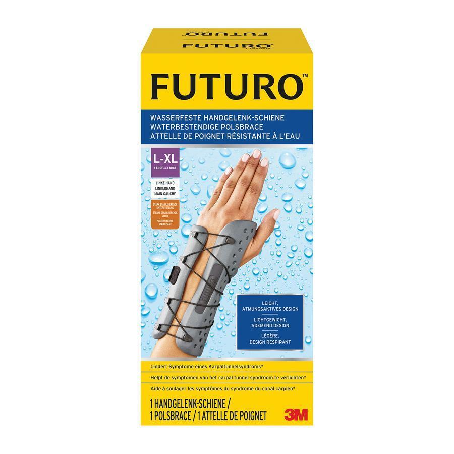 Image of Futuro attelle de poignet imperméable gauche L/XL