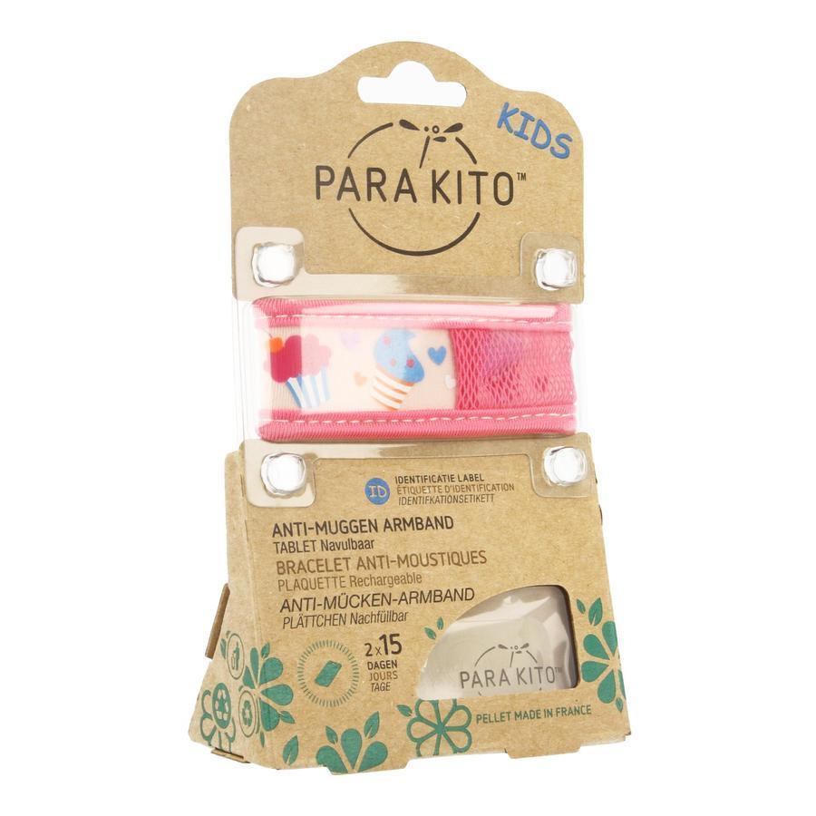 Image of Parakito Anti-Muggen Armband Kids cupcake
