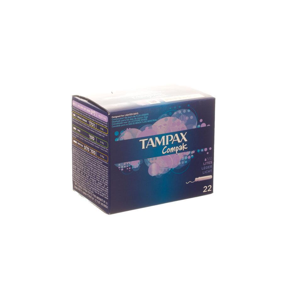 Image of Tampax Compak Lite