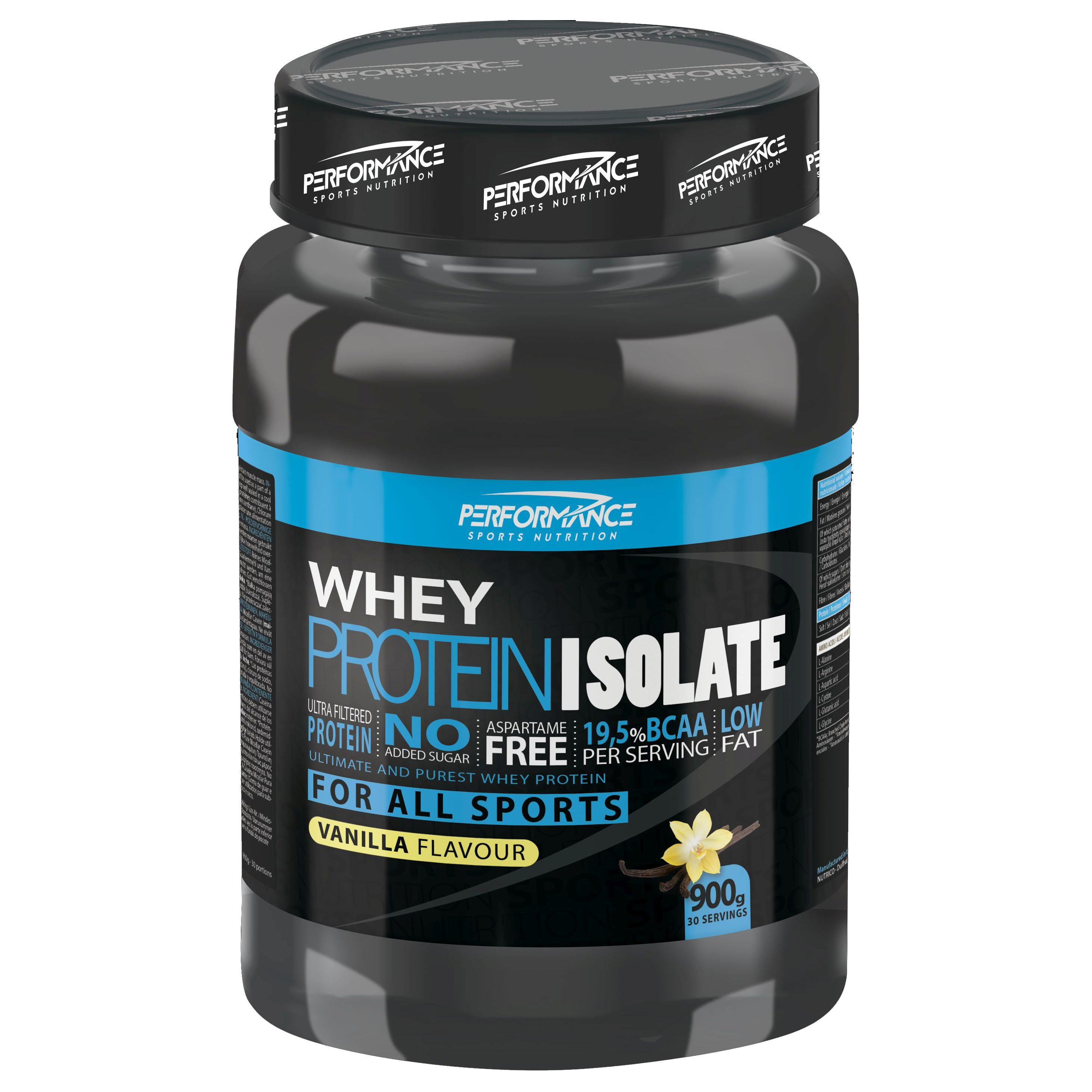 Performance Whey Protein Isolate vanille