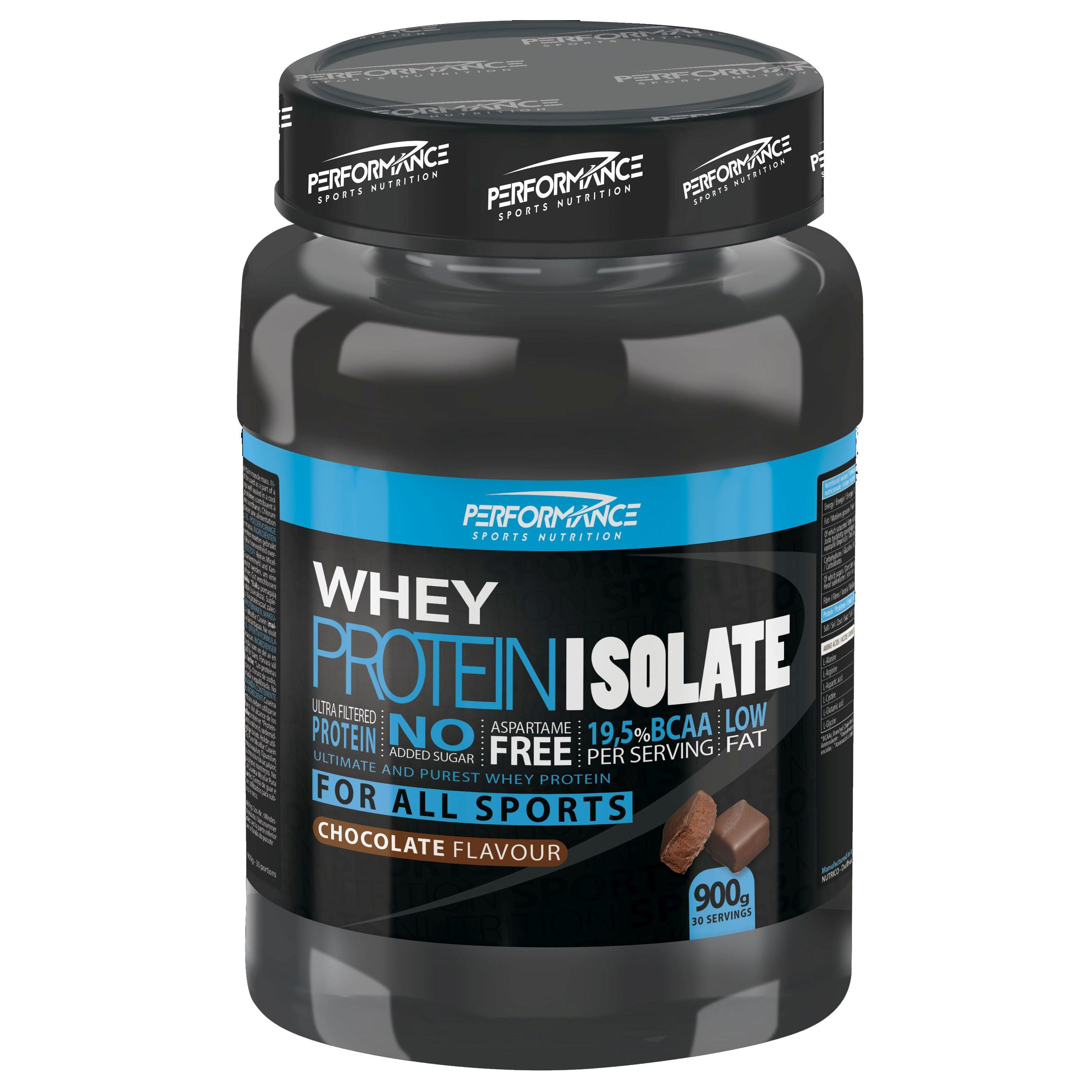 Performance Whey Protein Isolate chocolade