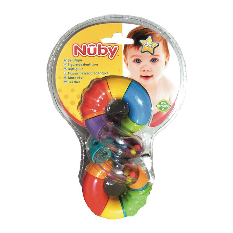 Image of Nûby anneau de dentition +4 mois