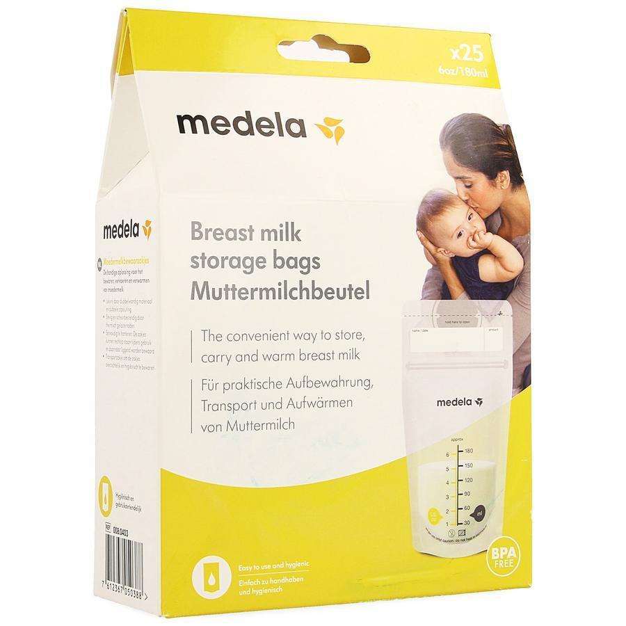 Medela Moedermelkbewaarzakjes 180ml