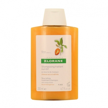 Klorane Shampoo met Mangoboter