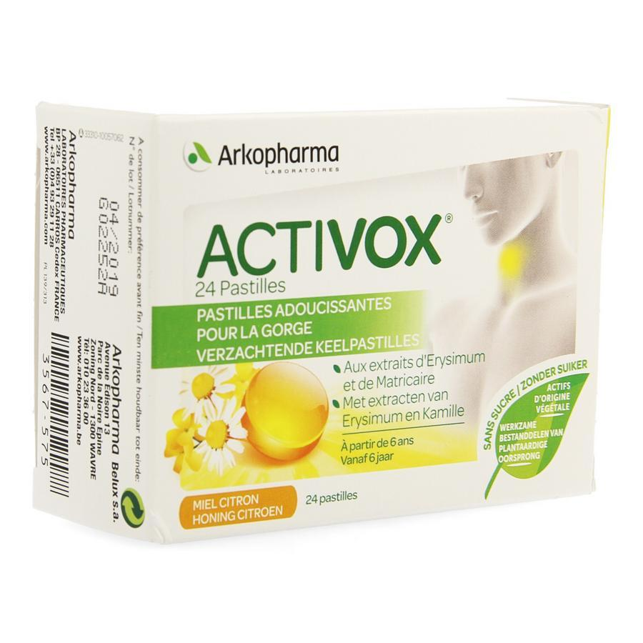 Image of Activox miel citron