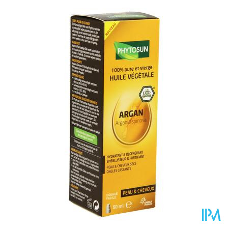 Image of Phytosun argan huile végétale bio