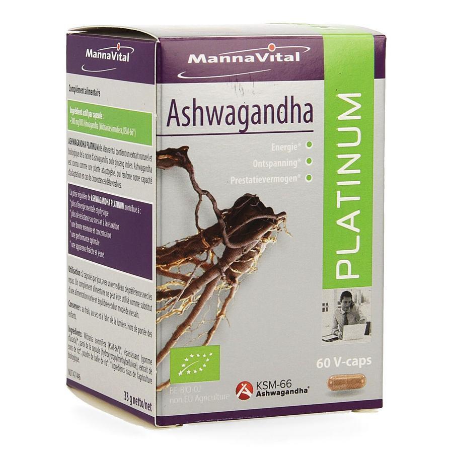 Image of Mannavital Ashwagandha Platinum