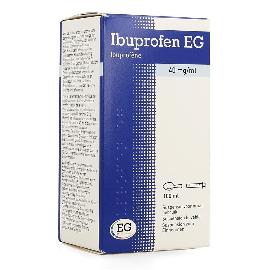 Image of Ibuprofen EG 40mg/ml