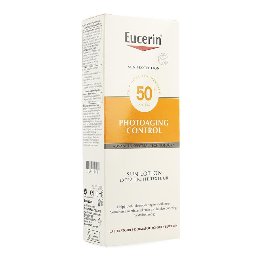 Image of Eucerin Sun Photoaging Control lichte textuur SPF50