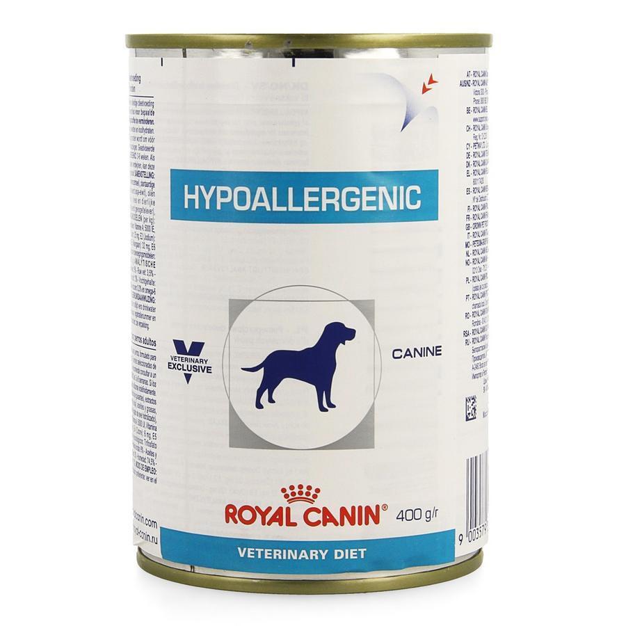 Image of ROYAL CAN HYPOALLER CHIEN VET. BOÎTE