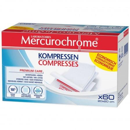 Image of MERCUROCHROME COMPRESSE 20X20CM