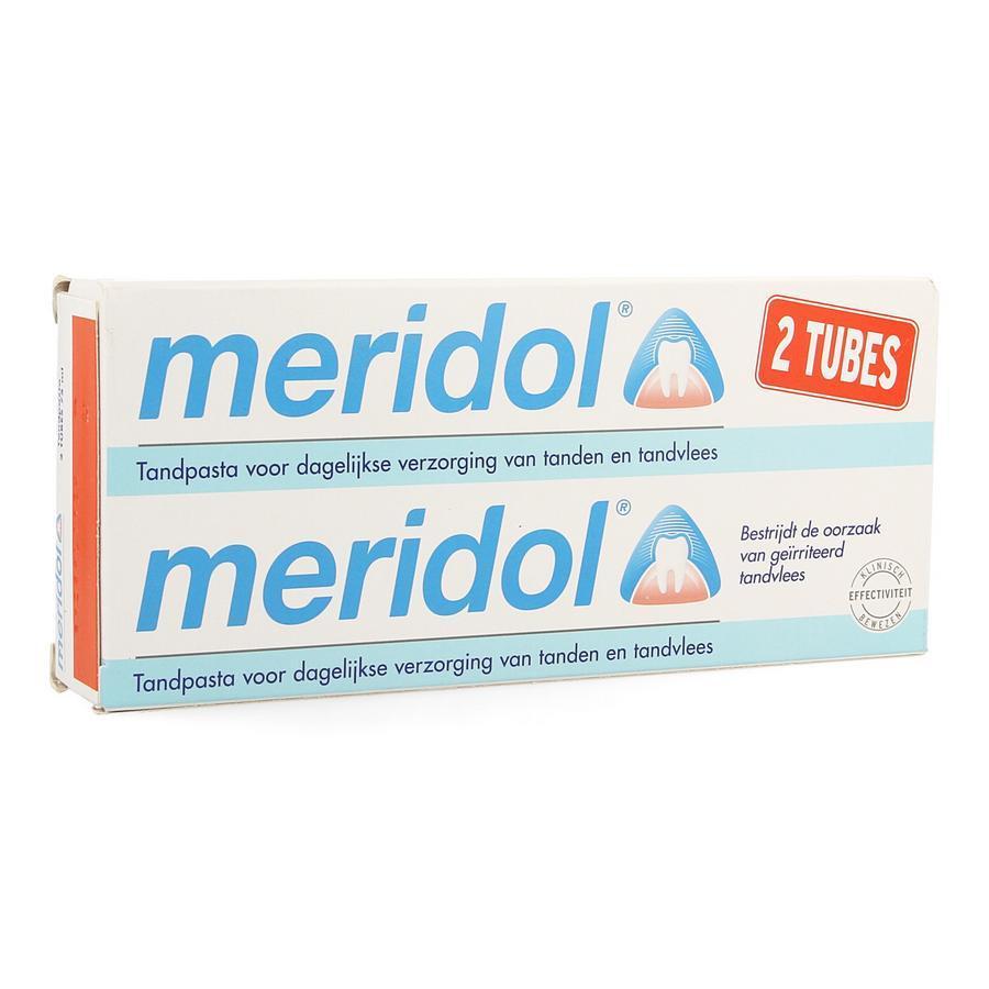 Image of Meridol dentifrice duo