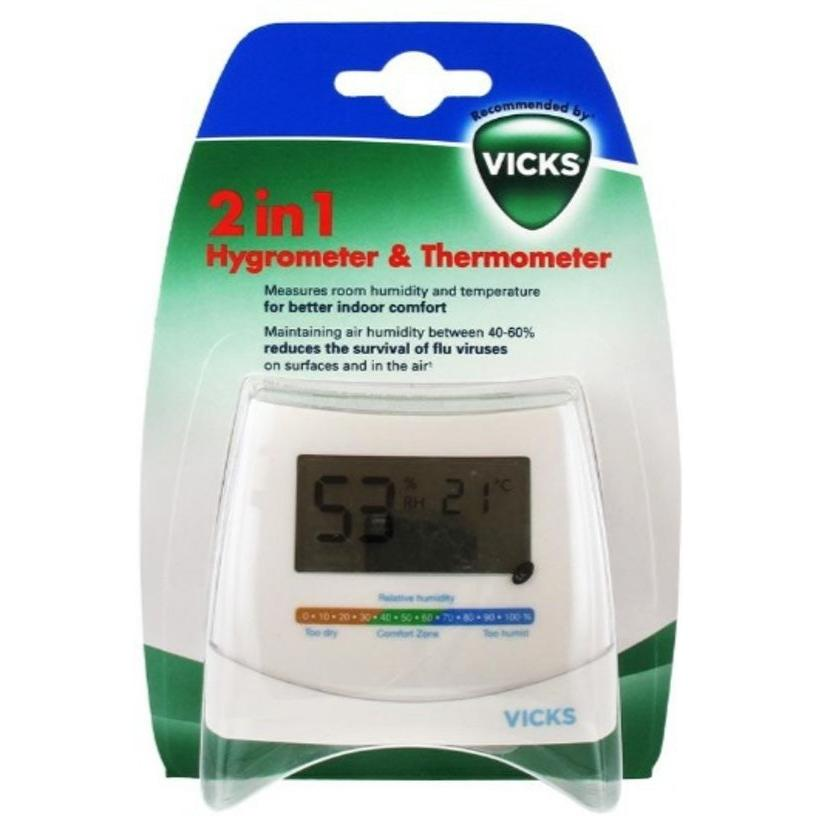 Vicks Hygrometer + thermometer V70