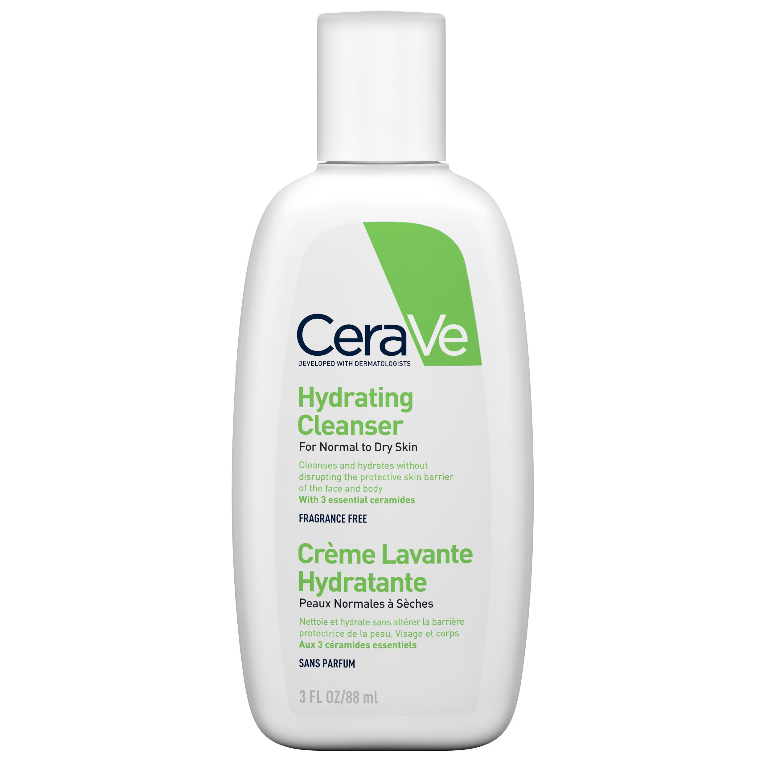 Image of Cerave crème lavante hydratante