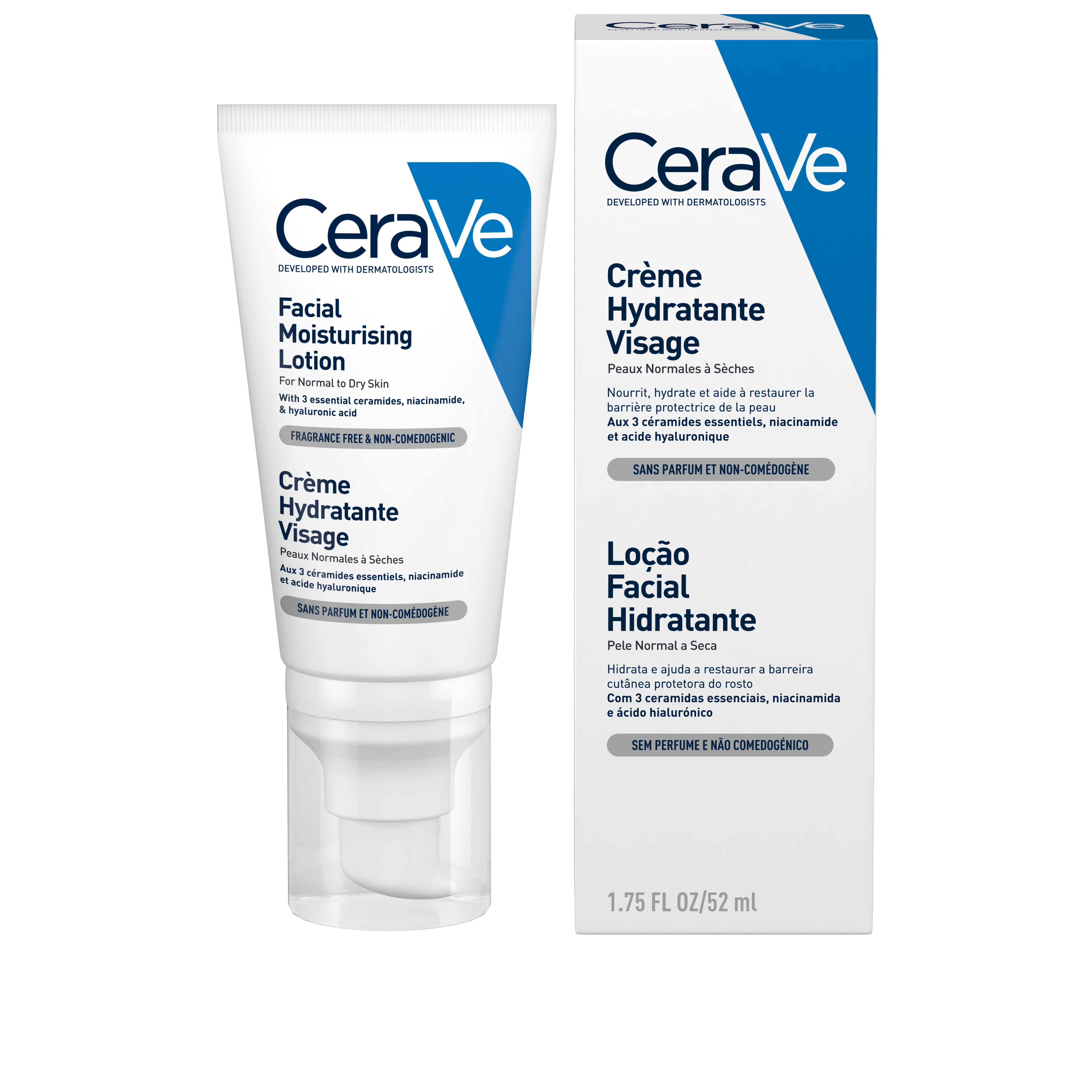 Image of Cerave crème visage hydratante