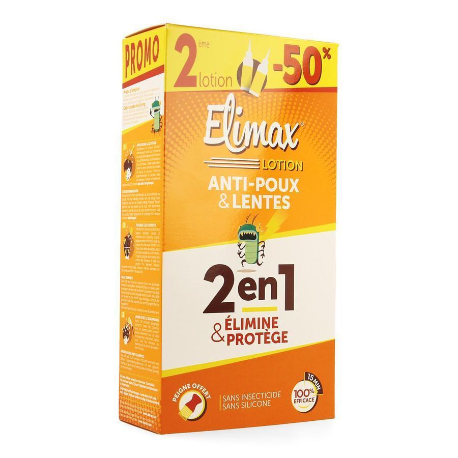 Image of Elimax anti-luizenlotion Duopack