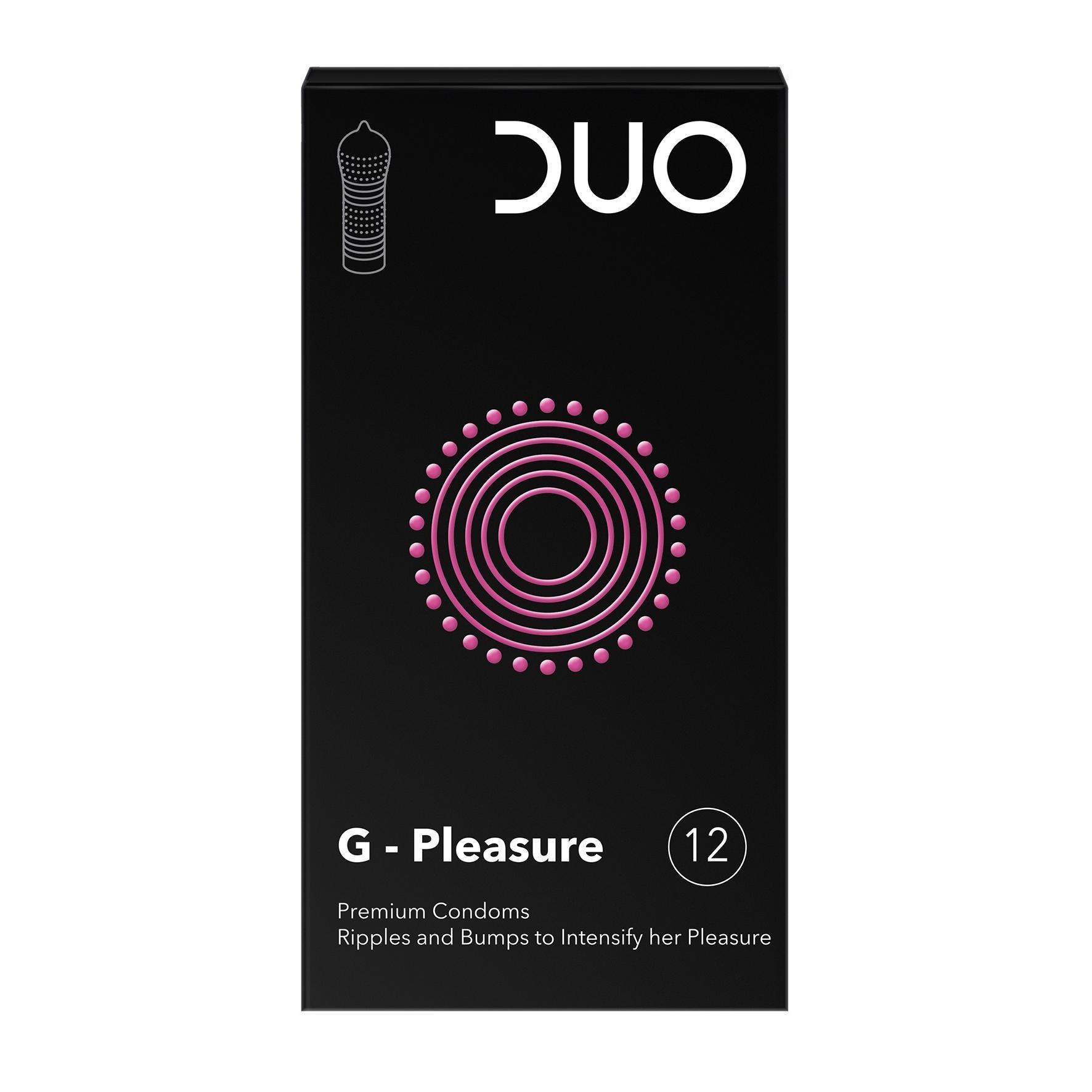Image of Duo G-pleasure condooms