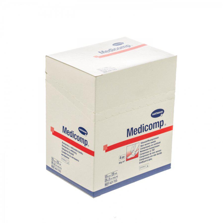 Image of Medicomp kompressen 7,5x7,5cm 4L