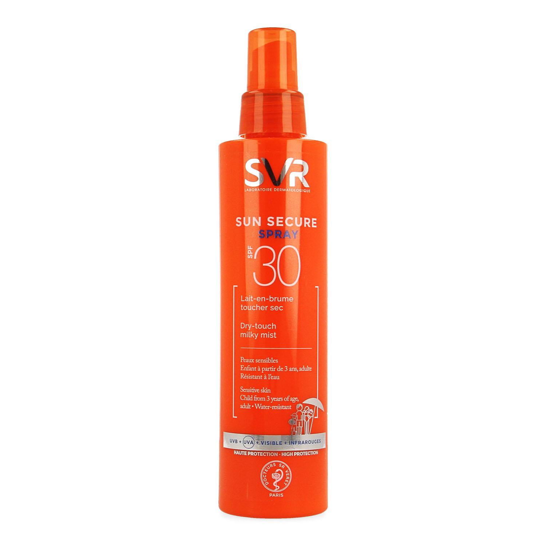 Image of SVR Sun Secure spray SPF30
