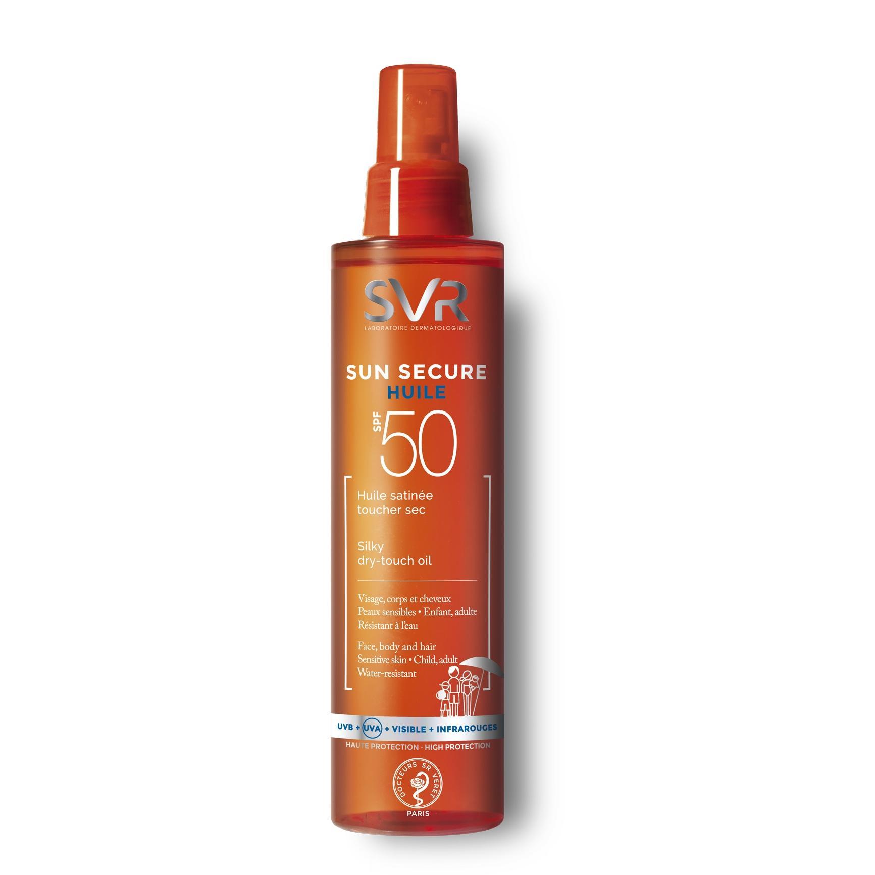 Image of SVR Sun Secure oliespray SPF50
