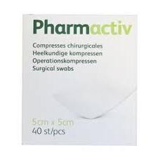 Image of Pharmactiv Steriele kompressen 5x5cm