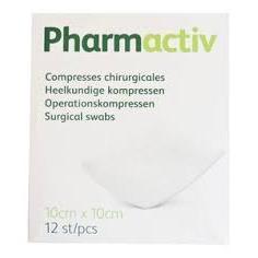 Image of Pharmactiv Steriele kompressen 10x10cm