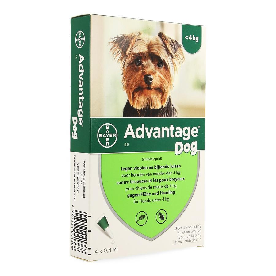 Image of Advantage 40 Chiens <4kg Spot-on