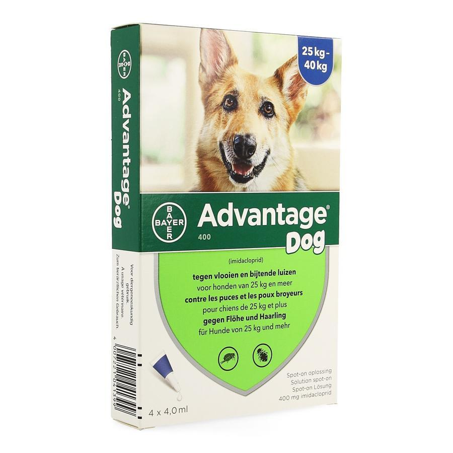 Image of Advantage 400 Chiens 25<40kg Spot-on