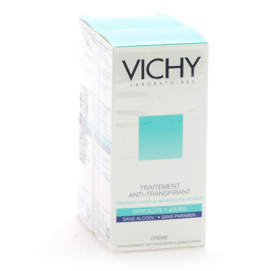Image of Vichy Anti-transpirant déodorant 7 jours duo