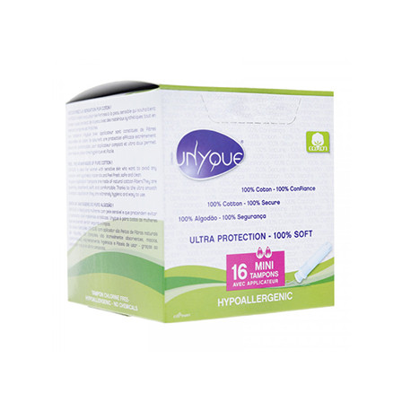 Image of Unyque Tampon mini + applicator 100%katoen