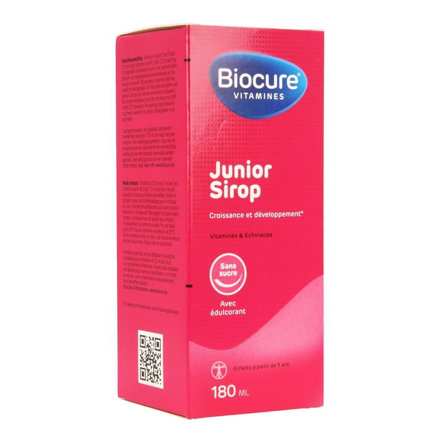 Image of Biocure junior sirop sans sucre