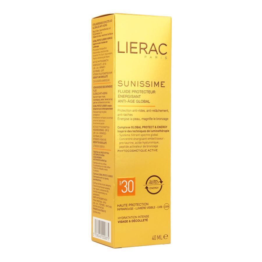 Image of Lierac Sunissime Dynamiserende Beschermende Fluide Anti-Age SPF30