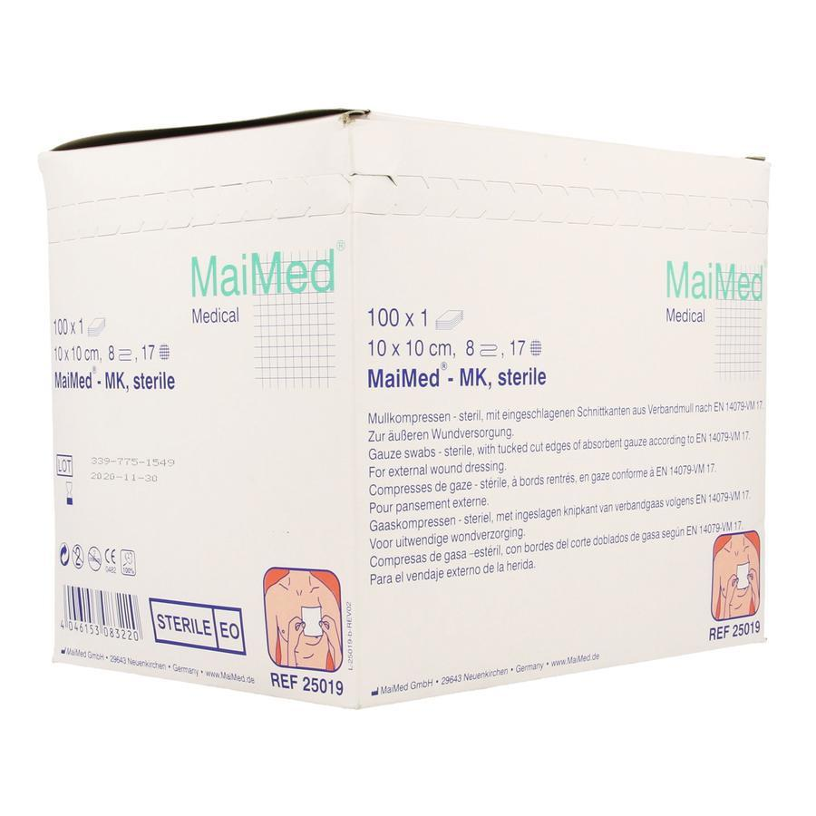 Image of MaiMed Steriele kompressen 10x10cm