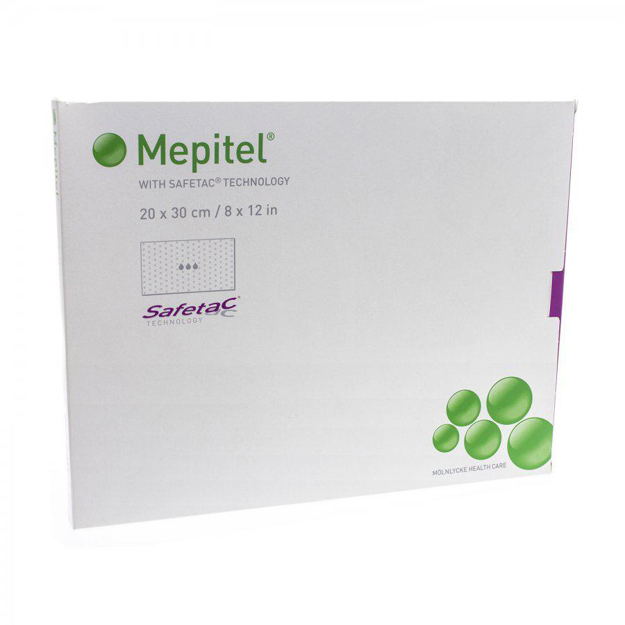 Image of Mepitel comp sil transp 20x30cm