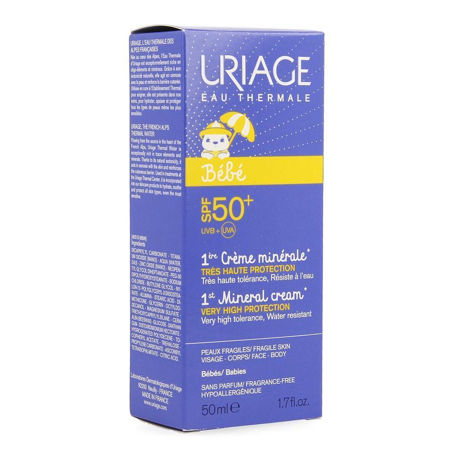 Image of Uriage Baby 1ste minerale zonnebescherming SPF50+
