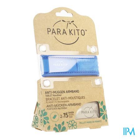 Image of Parakito Anti-Muggen Armband Groot Model blauw