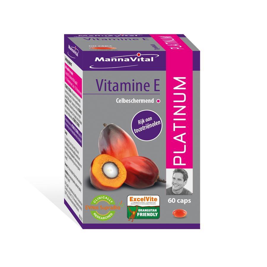 Mannavital Platinum Vitamine E