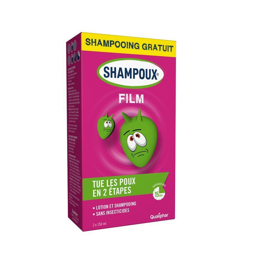 Image of Shampoux Film lotion et shampooing