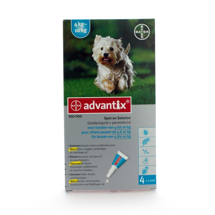 Advantix 100-500 4 pipetten