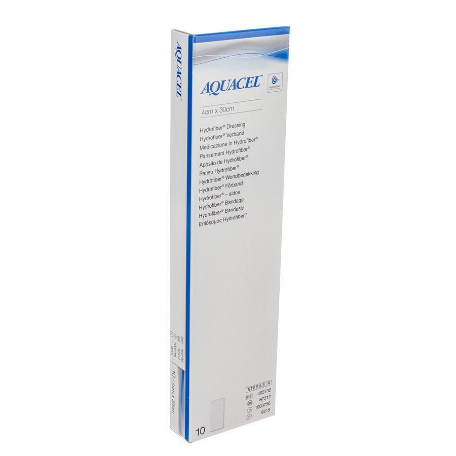 Image of Aquacel Ag hydrofibre 30x4cm