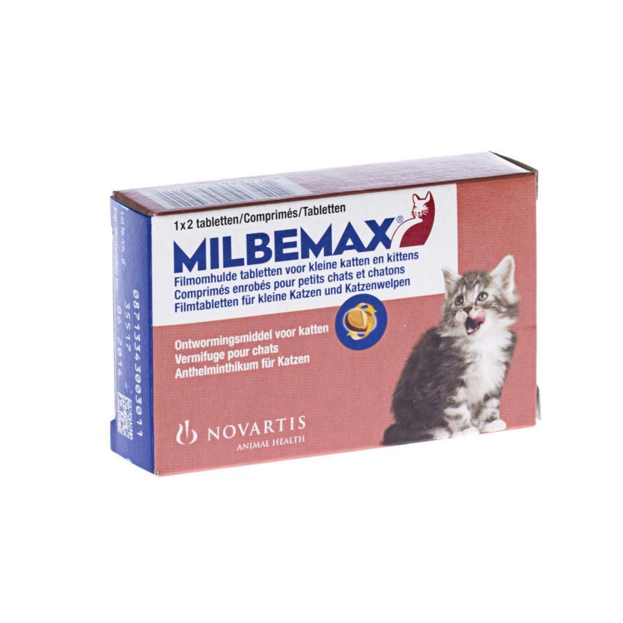 Milbemax Kleine katten & kitten
