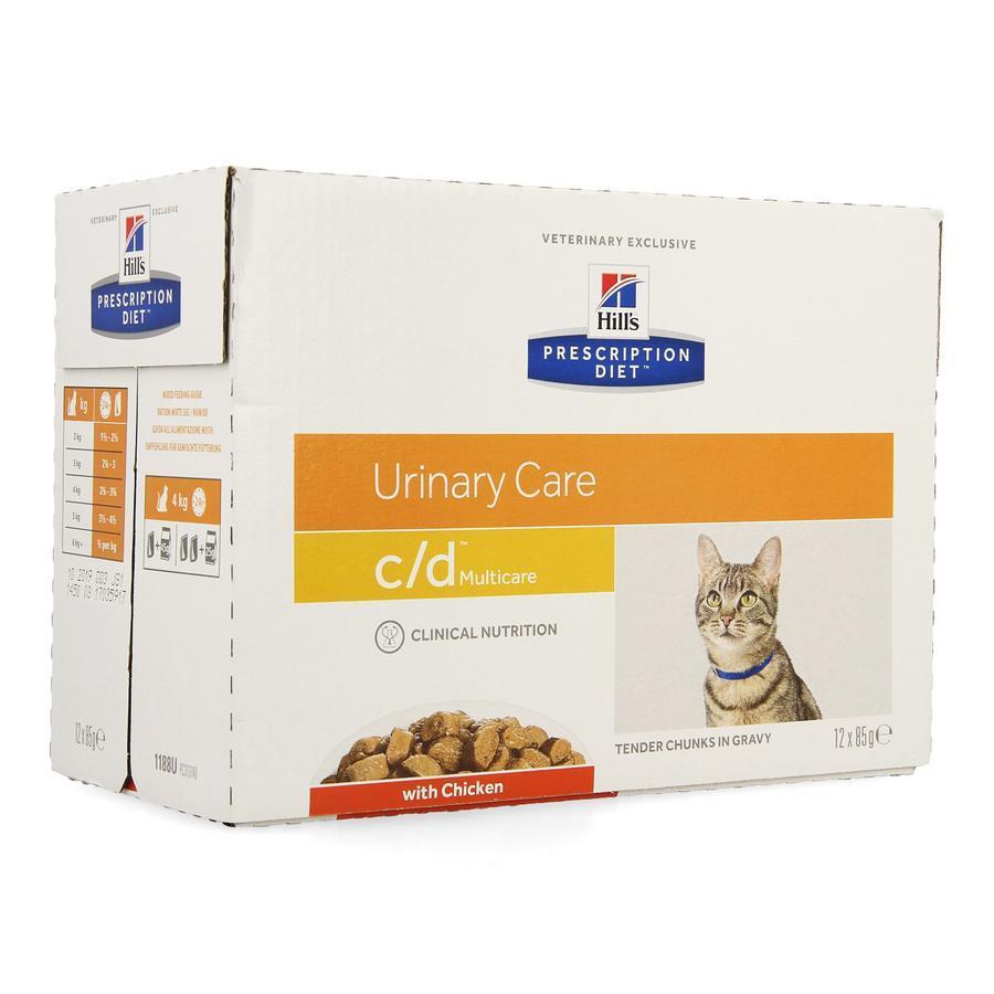 Image of Hills Prescrip.diet Feline Cd Sachet repas 12x85g